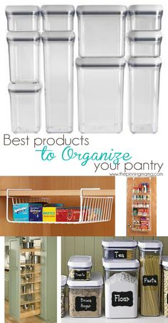 Best Products to Organize Anything & Everything in Your Kitchen | The Pinning Mama