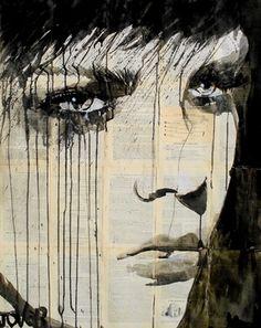 "Saatchi Online Artist Loui Jover; Drawing, ""gateway"" #art"