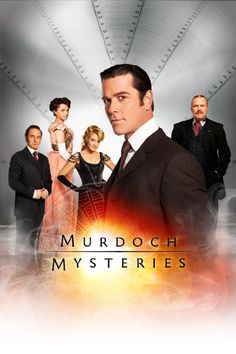 Murdoch Mysteries- like a steampunk mash-up of Sherlock Holmes and Edison.  With so many great historical characters.  Canadian tv at its finest