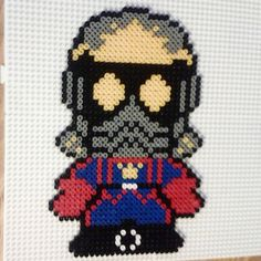 Star Lord Guardians of the Galaxy perler beads by robs_geek_cave