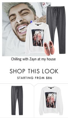 """""""Chilling with Zayn at my house"""" by reasongirl ❤ liked on Polyvore featuring rag & bone, 1d, Sweater, zaynmalik and pants"""