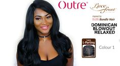 Sultry Outre Dominican Blowout Relaxed Wig Review + Epic Giveaway ft Sam...