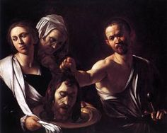 Salome with the Head of John the Baptist - Caravaggio, 1607