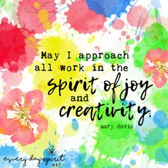 Do work with love. xo Get the app of uplifting wallpapers at ~ www.everydayspirit.net xo #joy #creativity #contentment