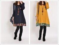 Cool Plus Size Black Dresses Cheap modest women clothing Cotton spring autumn dress summer dress long sleeve ...