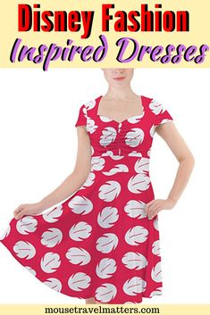 Dresses, comfortable sandals, and hats to the Disney theme parks. This is because the parks are typically hot and involve a lot of activity in the sun. Disney Cruise Tips, Disney Vacation Planning, Disney Travel, Disney Theme, Disney Style, Disney Vans, Walt Disney, Disney Inspired Dresses, Disney Maternity