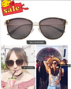 Note:50% off of frames for fans with code:PIN50        *Sale frames excluded.  Popular sunglasses display!Recommend this sunglasses today!