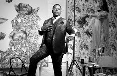 """Visual artist Kehinde Wiley. (""""About"""" page)"""