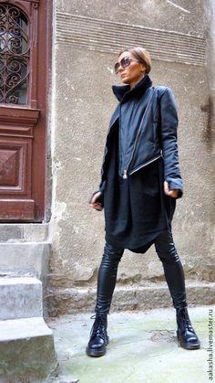 Пальто, куртка, черное плаьто, модное пальто, теплое пальто, теплая куртка, зимнее пальто, пальто для зимы, пальто на синтепоне, длинное пальто, пальто на молнии