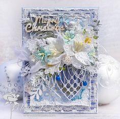 """Winter Wonderland"" card... http://fifishobby.blogspot.ie/"