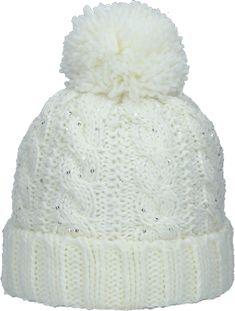 cf798a8f4f2 Chaos Girl s Eve Beanie White 7-14 Kids Eve
