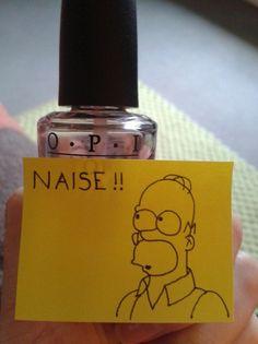 Laissez parler les petits papiers...LPLPP Homer Simpson