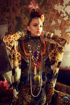 Camilla - Tales from a Reading Room 2013 bohemian goddess fierce fashion editorial