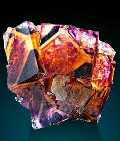 A love for minerals — Fluorite Locality: Okoruso Mine, Otjiwarongo. Cool Rocks, Beautiful Rocks, Minerals And Gemstones, Rocks And Minerals, Mineralogy, Mineral Stone, Rocks And Gems, Stones And Crystals, Gem Stones