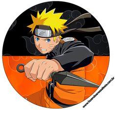 Naruto: Etiquetas para Candy Bar para Imprimir Gratis. Naruto Shippuden Sasuke, Anime Naruto, Minato E Naruto, Naruto Cool, Boruto, Kid Naruto, Naruto Party Ideas, Naruto Free, Naruto Birthday