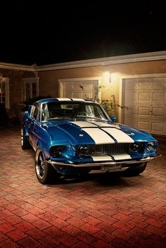 67 Shelby GT 500! I would love to have one!