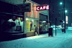 Greg Girard - Silver Grill Cafe, 6am. 1975