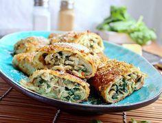 Krokiety z kurczakiem, mozzarella i szpinakiem   Blog kulinarny - codojedzenia.pl