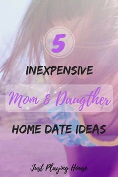 5 Easy inexpensive 5 Easy inexpensive mother daughter date night ideas at home. Mom Daughter Dates, Mother Daughter Crafts, Mother Daughter Activities, Daughters Day, Teenage Daughters, Parenting Humor, Parenting Tips, Rainy Day Activities, Family Activities