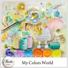 Colors World :: ALL NEW :: Memory Scraps