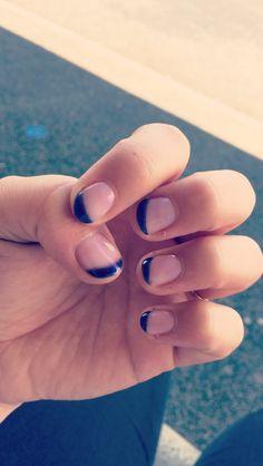 Nails art vernis semi permanent ! #Rose-Violet#