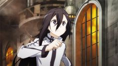 Kirito and Shion GGO SAO II Kirito Kirigaya, Kirito Asuna, Online Anime, Online Art, Video Game Swords, Otaku Problems, Fate/stay Night, Sword Art Online Kirito, Anime Crossover