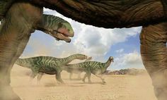 isanosaurs by ministerart on DeviantArt Rumble In The Jungle, Extinct Animals, Prehistoric Creatures, Jurassic Park, Cute Photos, Natural History, Fossils, Archaeology, Animals And Pets