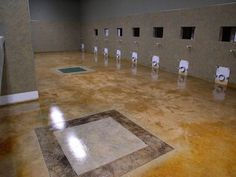 Tru tint acid stains are chemically reactive concrete stains that add a permanent color to cement based surfaces like concrete floors, concrete walls and concrete countertops. Acid Stained Concrete, Concrete Wall, Concrete Floors, Concrete Countertops, Cancun, Tile Floor, Stains, Decorations, Blue