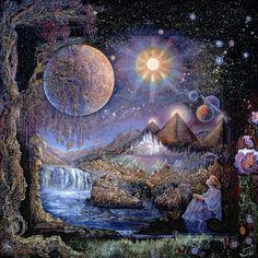 """""""Doorway to the Stars"""" - Josephine Wall"""