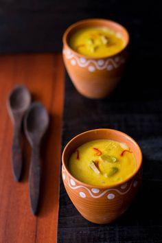 mango kulfi - frozen indian dessert - dense and creamy, veganized with almond milk.