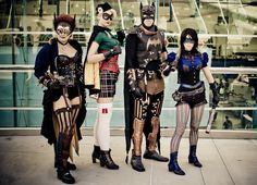 I love the Steampunk Mix... I want to devote my time to make this my future wardrobe...