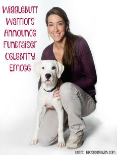 Wigglebutt Warriors Announce Fundraiser Celebrity Emcee - Fidose of Reality  for the fundraiser to benefit NYC Second Chance Rescue 04/16/15. #dogs #animalrescue