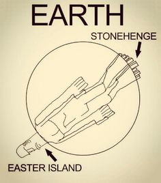 Between Easter Island and Stonehenge...