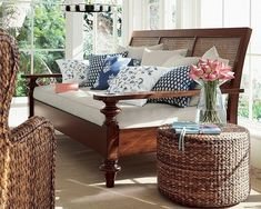 Great furniture pieces that combine the best of British Colonial.