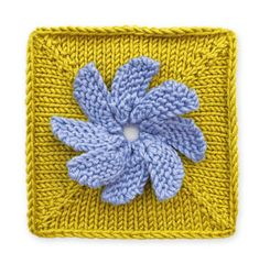 Stitchfinder : Knit Floral Block: Forget Me Not : Frequently-Asked Questions (FAQ) about Knitting and Crochet : Lion Brand Yarn