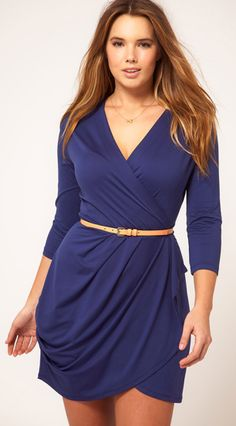 robe portefeuille grande taille asos