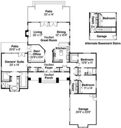 Heartford 10-420 floor plan from Associated Designs