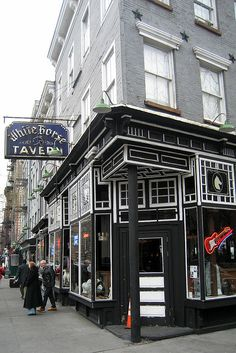 NYC - West Village: White Horse Tavern | Flickr - The White Horse Tavern has stood on Hudson and West 11th since 1878, replacing the James Dean Oyster House.