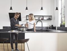 Talis M54 Kitchen Mixers Enhance the Pleasure of Making a Meal