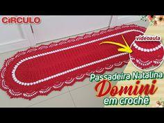 Passadeira Natalina Domini em Crochê - YouTube Make It Yourself, Carla Cristina, Youtube, Crafts, Crochet Dollies, Bedspreads, Cover Gray Hair, Trapper Keeper, Crocheting