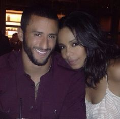 Hmm…Are Sanaa Lathan and Colin Kaepernick Dating? say it aint so...my celebrity crush Sanaa is taken...lol