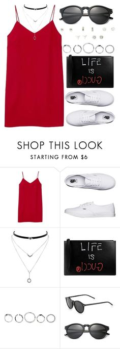 """1340."" by asoul4 on Polyvore featuring Alexia Ulibarri, Vans, Jessica Simpson, Gucci, Yves Saint Laurent and Charlotte Russe"