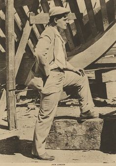 Literary treasures from the Harry Ransom Center – in pictures (Undated photograph of Jack London) Literature Books, American Literature, London Art, London Photos, Charmian London, Jack London Quotes, Sad And Lonely, Art Of Manliness, Writers And Poets