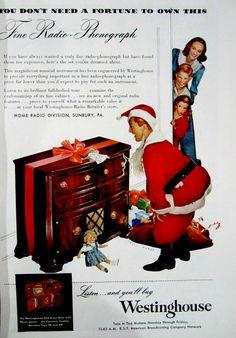 Vintage Christmas Ads /
