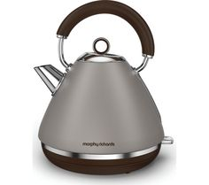 Buy a used Morphy RICHARDS Accents 102102 Traditional Kettle Pebble by comparing retail prices in UK. ✅Compare prices by leading retailers that sells ⭐Used Morphy RICHARDS Accents 102102 Traditional Kettle Pebble for cheap prices. Cooking Appliances, Small Kitchen Appliances, Traditional Kettles, Retail Websites, Cord Storage, Tesco Direct, Argos, Retro Design, Diy Kitchen