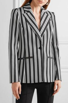 Altuzarra - Acacia Striped Wool-blend Blazer - Charcoal