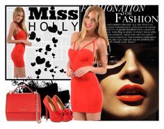 """""""Miss Holly 6"""" by mujkic-merima ❤ liked on Polyvore"""