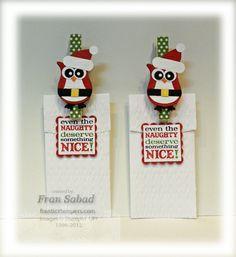 stampersblog: Santa Owl