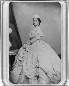 Empress Carlota of Mexico, daughter of Belgian King Leopold I and his French wife Marie-Louise of Orléans ~ 1866.