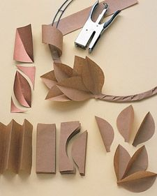 14 Front Door Decorations That Celebrate Everything We Love About Fall - - Creative wreaths, festive monograms, and decorative displays all make for a more welcoming front door during the fall months. Paper Flowers Diy, Flower Crafts, Origami Flowers, Handmade Flowers, Wall Flowers, Paper Flower Wall, Flower Diy, Fall Crafts, Christmas Crafts
